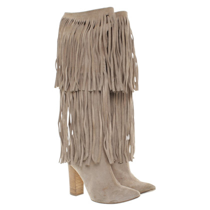 Chloé Suede boots in beige