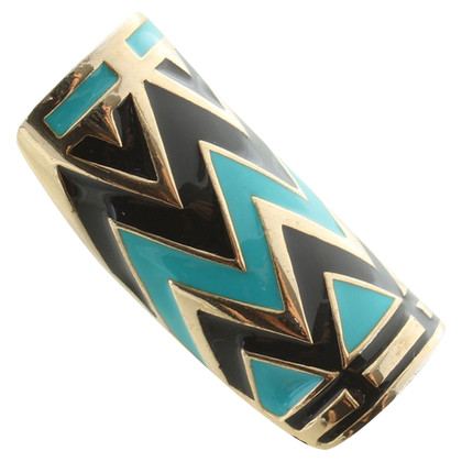 House of Harlow Ring met een zigzagpatroon