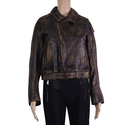 Belstaff Giacca in pelle in Antique Brown
