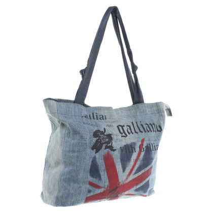 John Galliano Shopper aus Denim