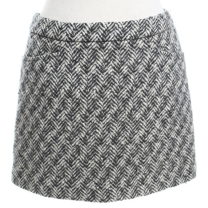 Miu Miu skirt in black and white