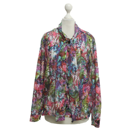 Rich & Royal Silk blouse in colorful