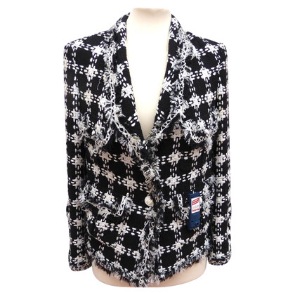 Chanel Blazer with logos