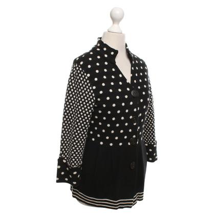 Kenzo Vest in zwart / Cream