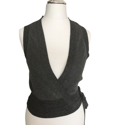 Dorothee Schumacher Knitted vest for wrap
