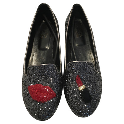 Chiara Ferragni Slipper in Anthrazit
