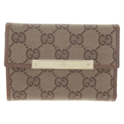 Gucci Wallet with Guccissima pattern