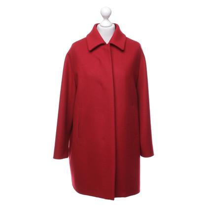 Aquilano Rimondi Manteau en rouge