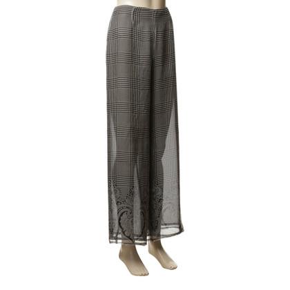 Andere merken JIKI - Marlene broek van zijde gemaakt