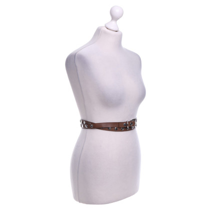 Marni Wrap belt with studs