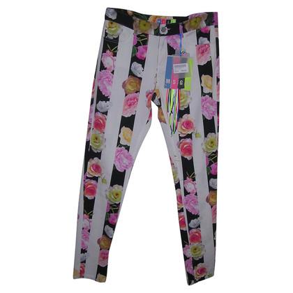 MSGM  Jeans mit Blumenprint