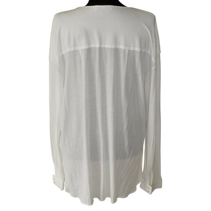 Allude Cotton/silk blouse