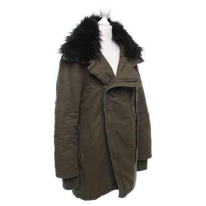 Zadig & Voltaire Parka in olive