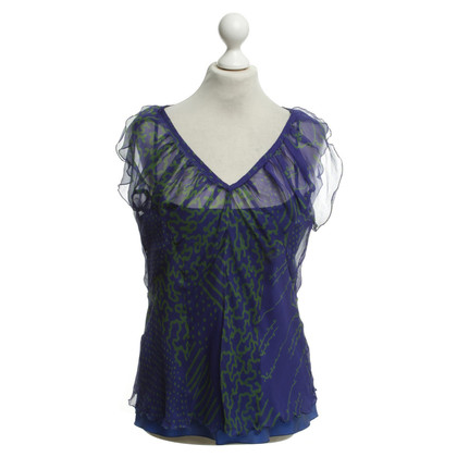 Philosophy di Alberta Ferretti Blouse in purple / green