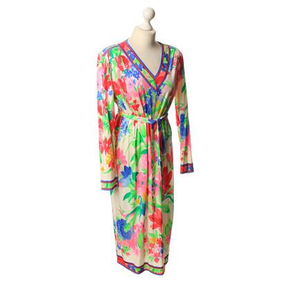 Leonard Zijde Jersey jurk