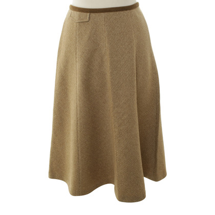Max Mara Wool skirt with staircase pattern