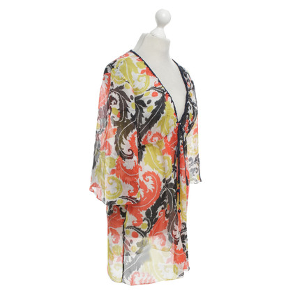 Milly Multicolored silk tunic