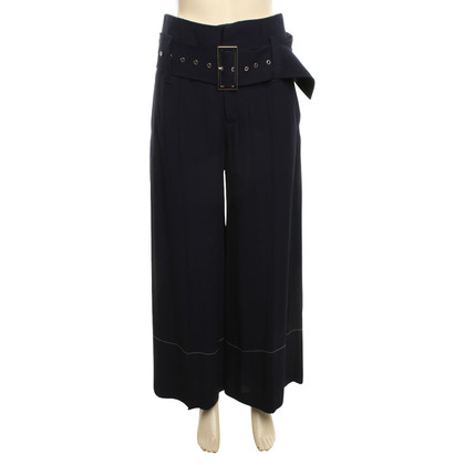 Céline Marlene trousers in dark blue