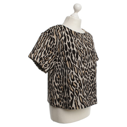 By Malene Birger Top con il disegno animale