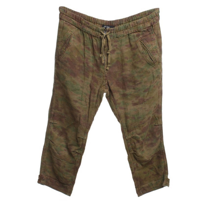 Isabel Marant Etoile trousers with camouflage pattern