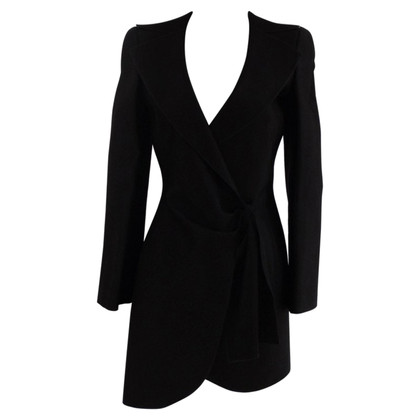 Giorgio Armani Giorgio Armani zwarte latex jas