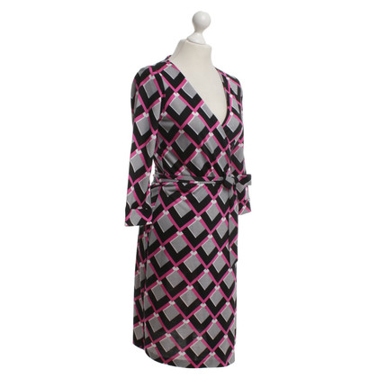 Diane von Furstenberg Wrap dress with pattern print