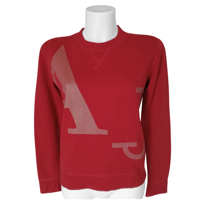 Armani Jeans Sweat-shirt rouge