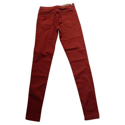 American Vintage Skinny jeans in claret