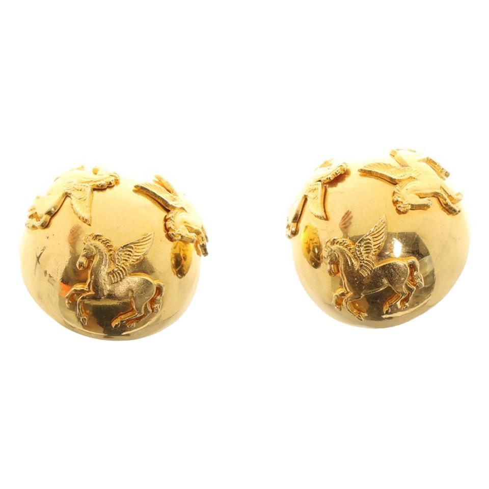 Hermès Earrings with horse motif