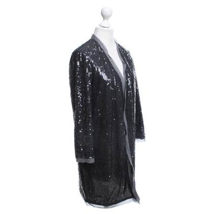 Hoss Intropia Open jacket with sequins