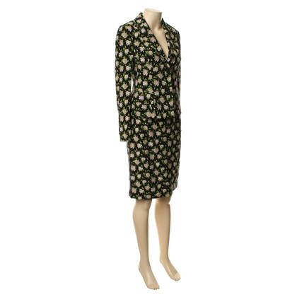Dolce & Gabbana Gedessineerde kostuum met bloemenprint
