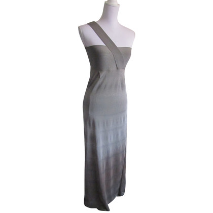 Pinko Grey evening dress.