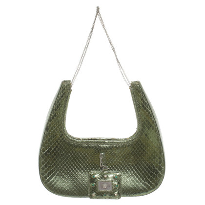 Versace Snake leather handbag