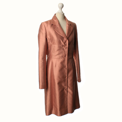 Christian Dior Facile cappotto in rosa scuro