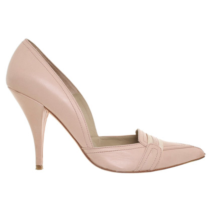 Pura Lopez pumps in nude