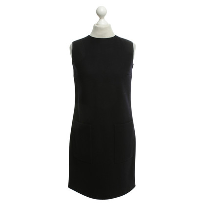 Victoria by Victoria Beckham Shift dress in dark blue