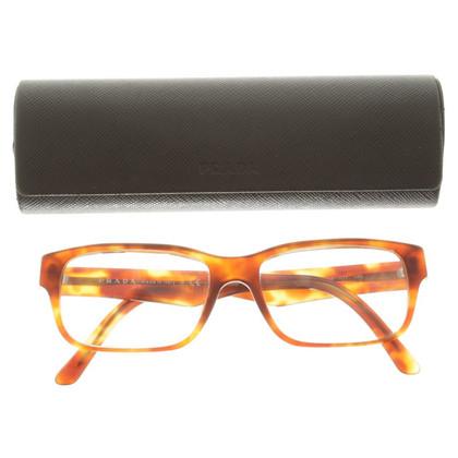 Prada Elegant glasses in Brown