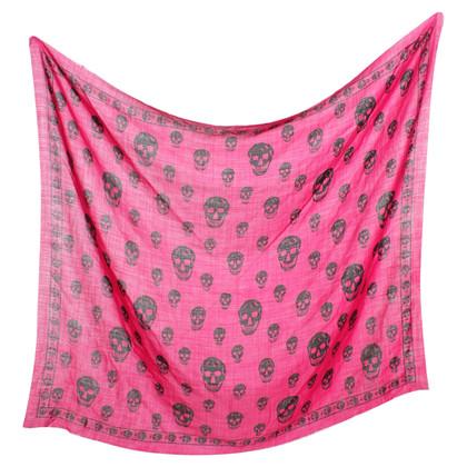 Alexander McQueen Schal in Pink