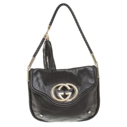 Gucci Schouder Bag mij toepassing van het logo