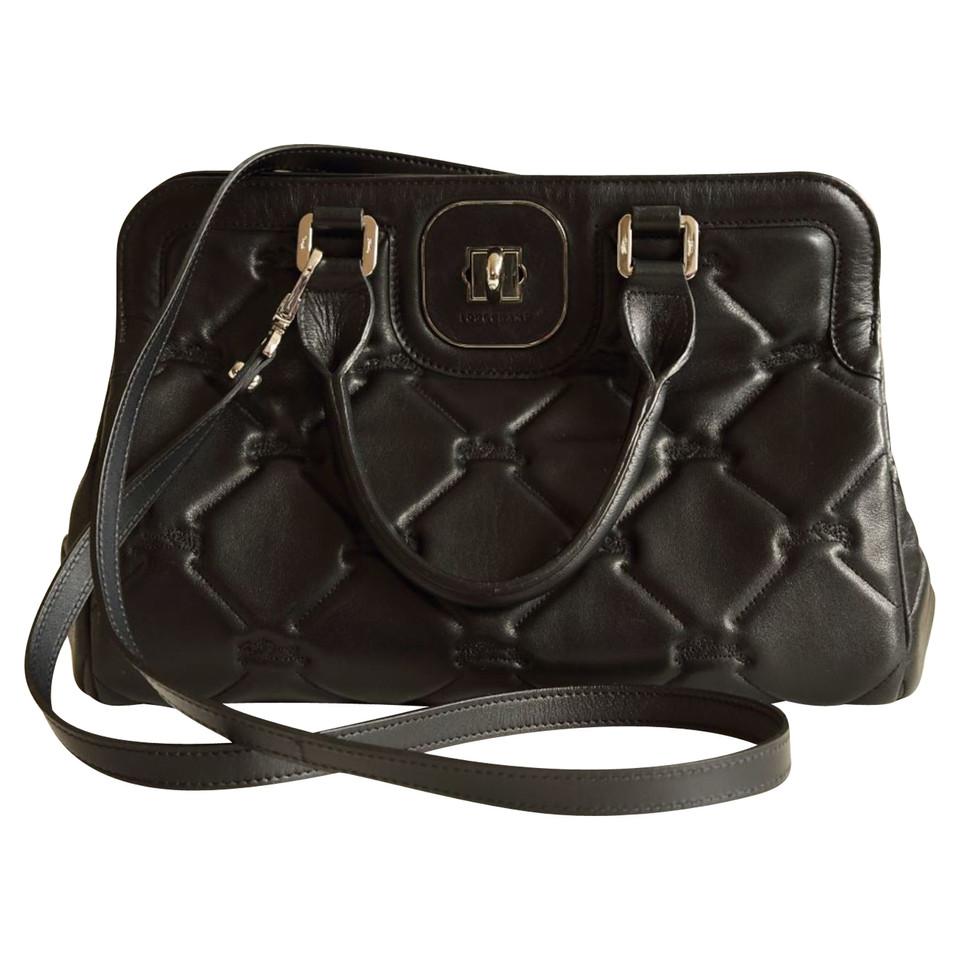 Borse In Pelle Longchamp : Longchamp borsa in pelle trapuntata compra