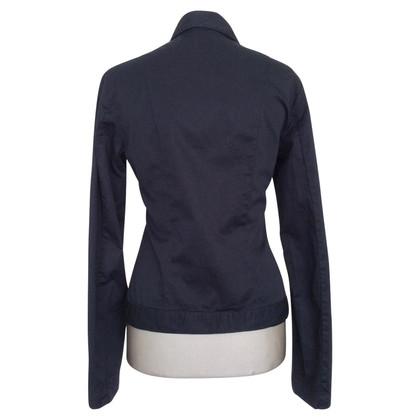 Versace Blouse bleu foncé