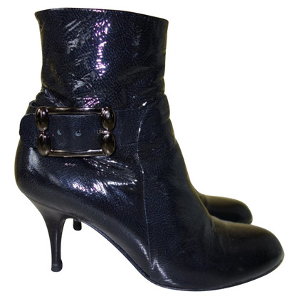 Sergio Rossi Ankle boots made of patent leather