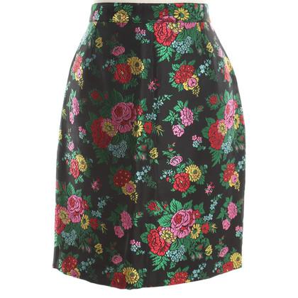 Kenzo Mini-jupe avec un motif floral