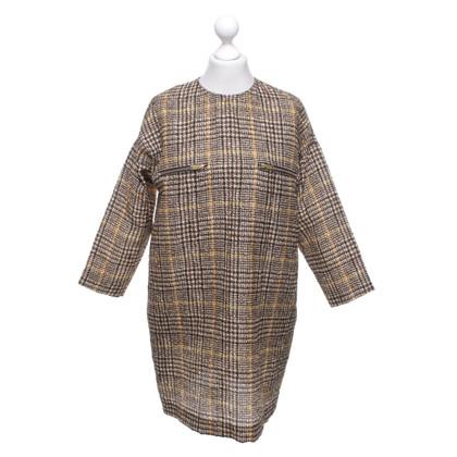 Céline Dress with plaid pattern
