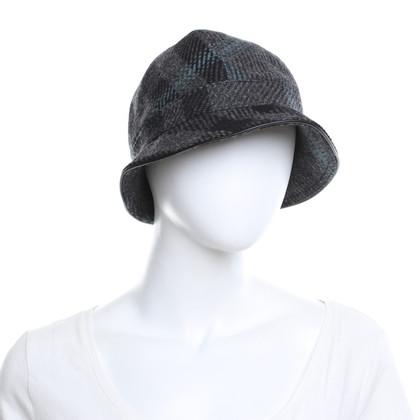 Burberry Chapeau avec motif de vérification