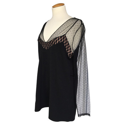 Schumacher top with lace