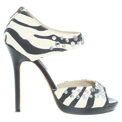 Jimmy Choo for H&M Sandaletten im Zebra-Look