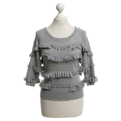 Other Designer Knitted & Knotted - Knitted Top in grey