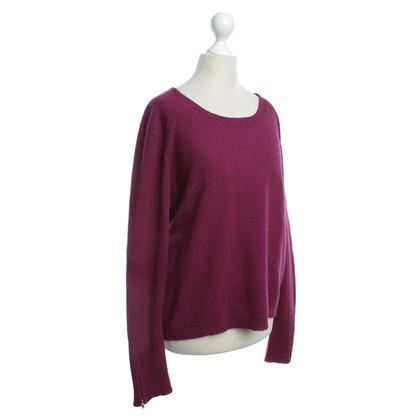 American Vintage Pullover in Beerenfarben