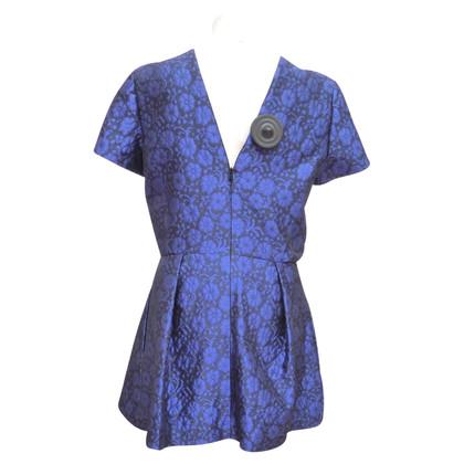 Christian Dior camicetta di seta con tasche